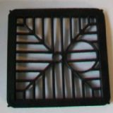 Square 6 inch Plastic Gully Grid Grating - 54000490